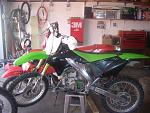 kawasaki 250 f bored to a 29o