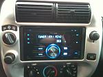 Pioneer double din, with bluetooth and xm