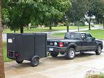 sept.7th/2011  my ranger and new custom trailer