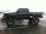 My baby in the snow :)