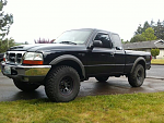 2000 Ford Ranger XLT 4x4 offroad