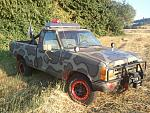 My buddies 1990 ranger, hes apparently ready for a zombie apocalypse, hes running dual alternators to run all his lighting, driving on 30' mud tires