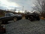 my quad and truck