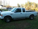 White 2011 SuperCab XLT 4.0