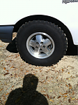 Jeep rims n mud kings