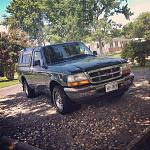 Green 1998 Ford Ranger 3.0 2wd