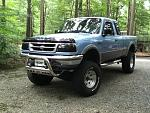 My All Jacked Up 97 ranger xlt super cab 4x4