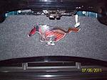 Trunk rear panel from American Muscle