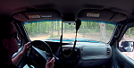 Inside view of offroading goodness.