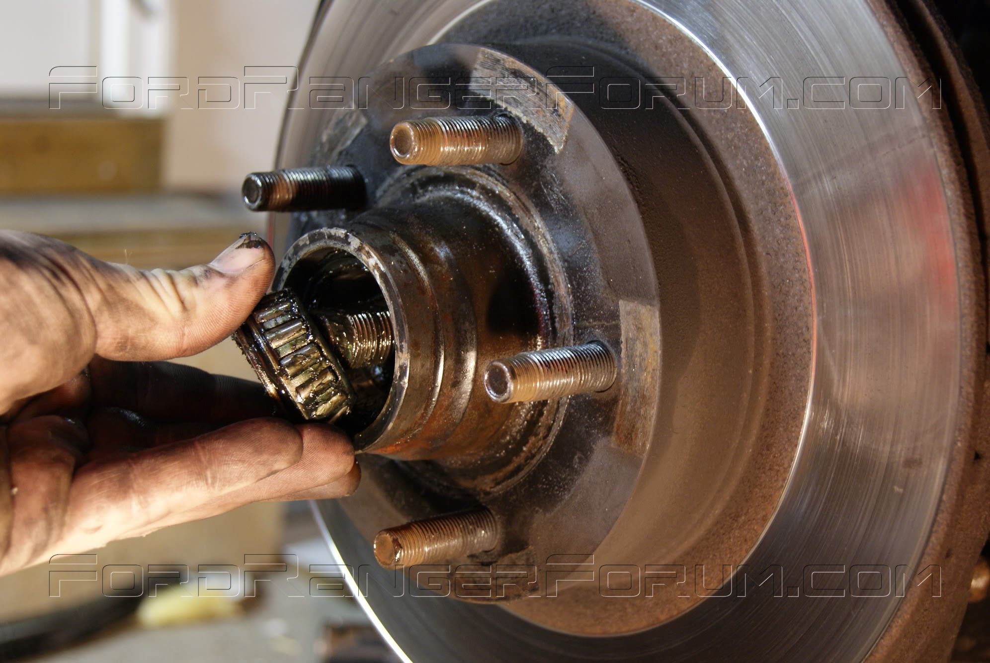 how to replace front wheel bearings on a 2 wheel drive ford ranger autos post. Black Bedroom Furniture Sets. Home Design Ideas