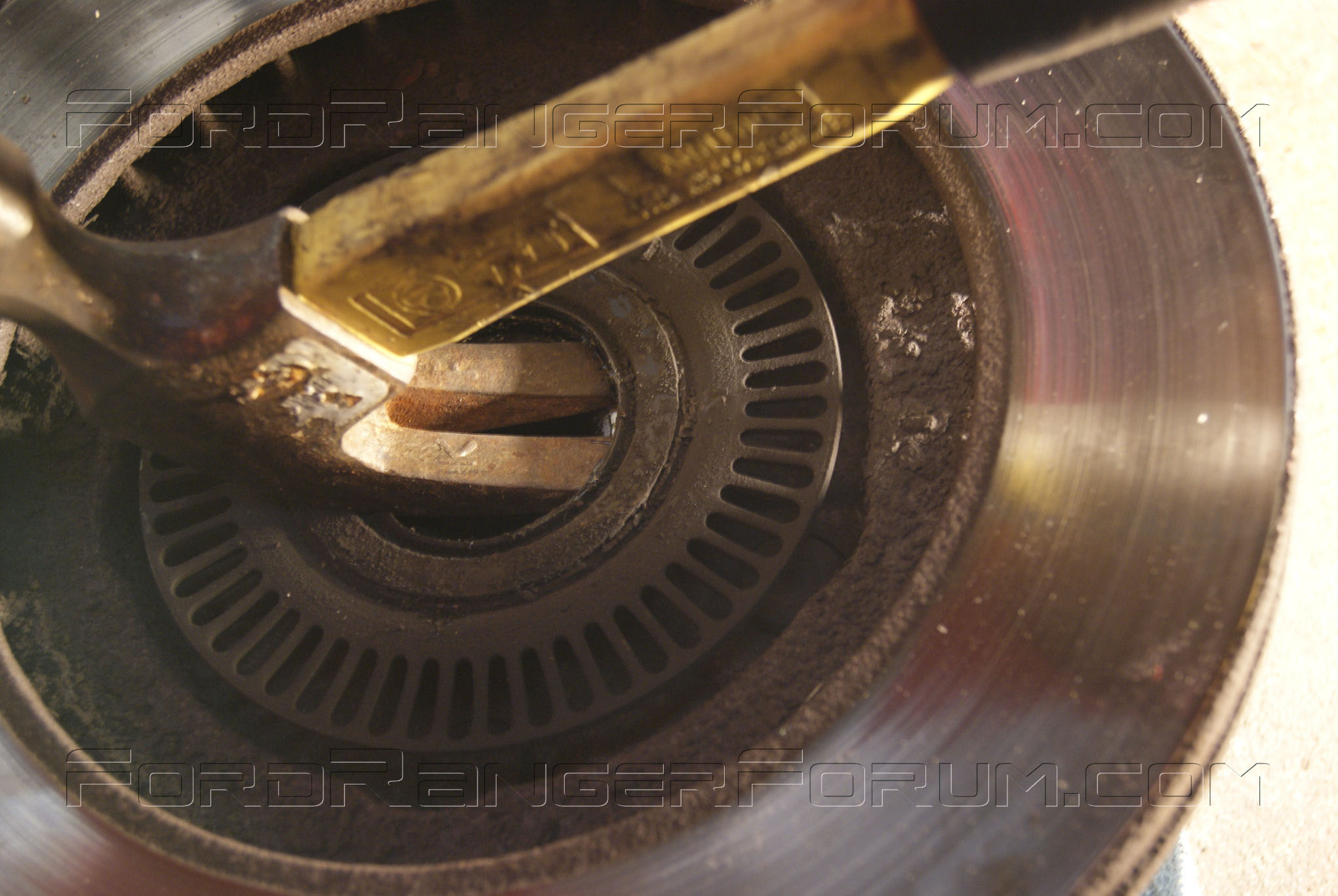 how to change bearings on a mulcher