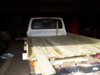 A Board for Flat Bed (Ranger ) Ford --- taking it easy