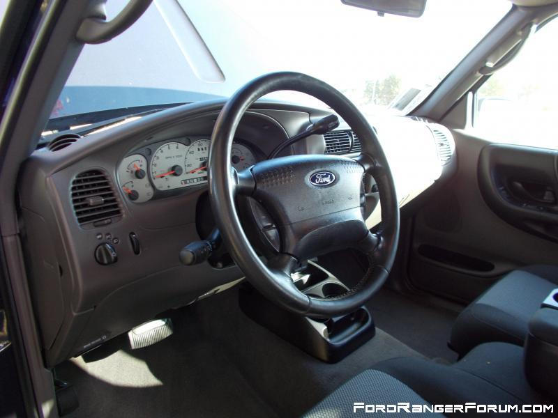 2003 Ford Ranger FX4 interior.