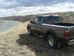 Truck on a Cliff