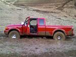 2001 red ford ranger 4x4