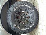 Truck with tires rims and torsion crank