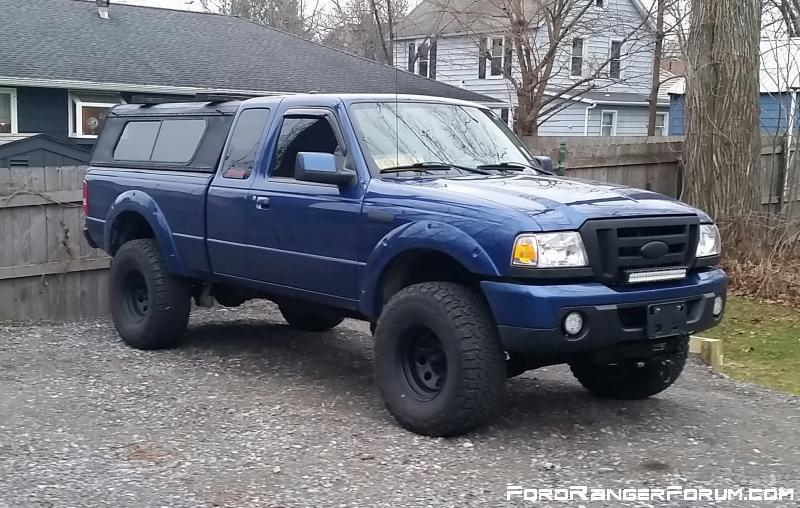 How truck sits now as of 12/20/15