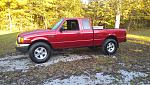 03 Red Ford Ranger 4x4 4.0