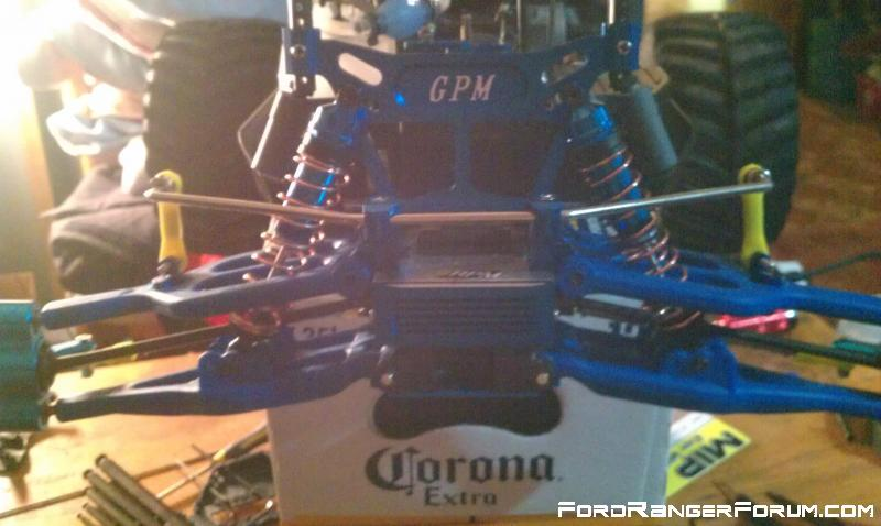 Sway Bar Kit on back also Aluminum GPM Racing Knuckles