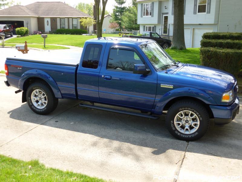 2012 ford ranger blue - photo #42