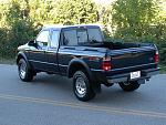 2002 Ford Ranger FX4 Supercab - Dark Wedgeood Blue