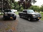 My trucks Bruce and Ercula. That's right I named them