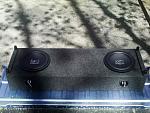 My custom sound system..