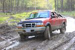 Mud on the tires