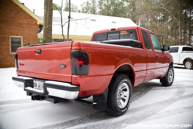 Ford Ranger Exhaust Tip >> - Taillight covers- Painted bumper step- Painted exhaust ans tip