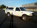my ford ranger and one pic of my mini truck