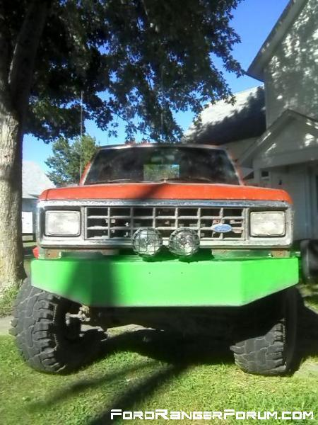 "86 ford ranger with 6"" of lift."