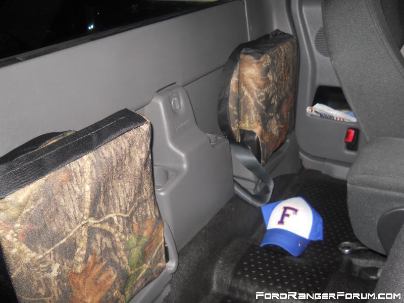 Custom Camo Jump Seat Covers
