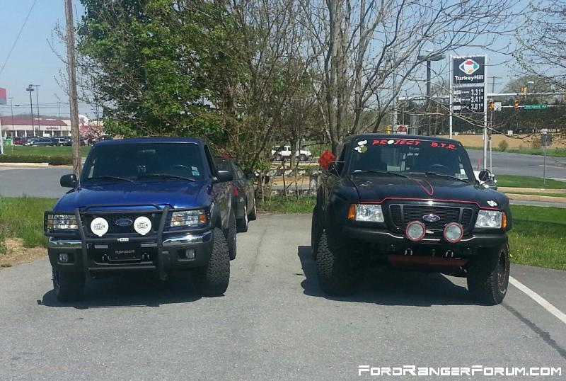 2004 fx4 level 2s and my truck together