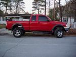 2000 Ford ranger red