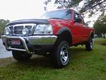 2000 Ford ranger red