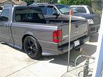 Tinted Smoked Reverse Ford Ranger Tail Lights