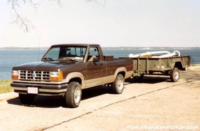 Old Ranger and anchor 1997