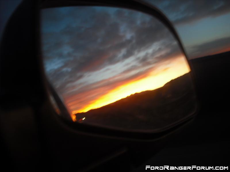 Ukiah Sunset