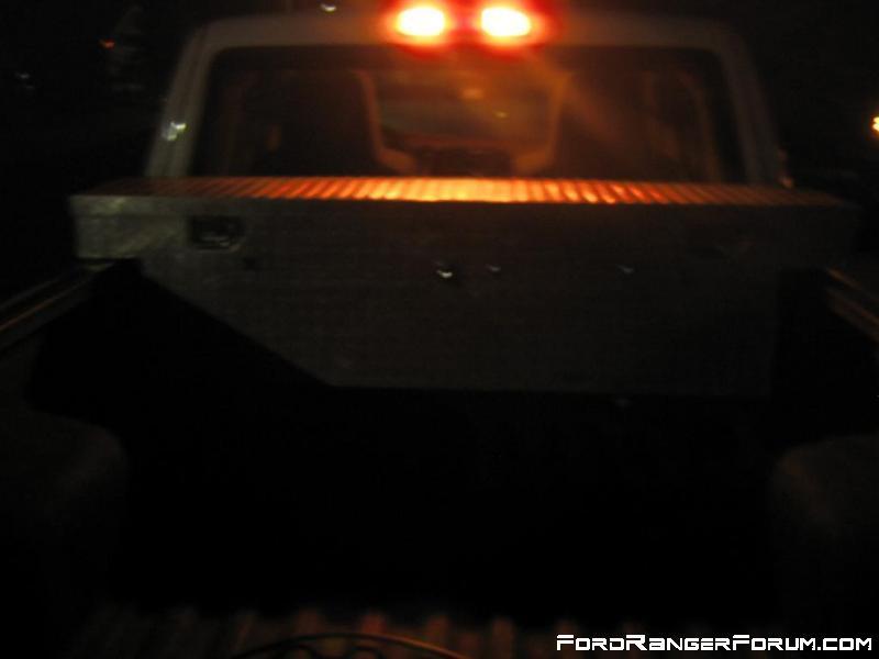 Cargo lights installed