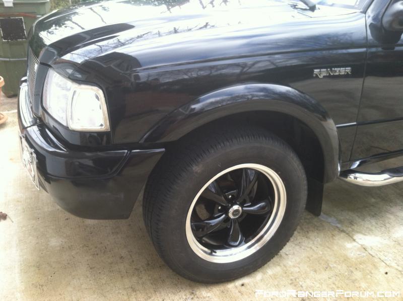 Ford Ranger drivr side new wheel