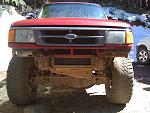 Winch bumper build