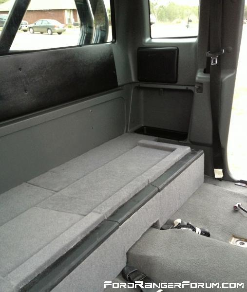 How To Supercab Storage Box Page 3 Ford Ranger Forum
