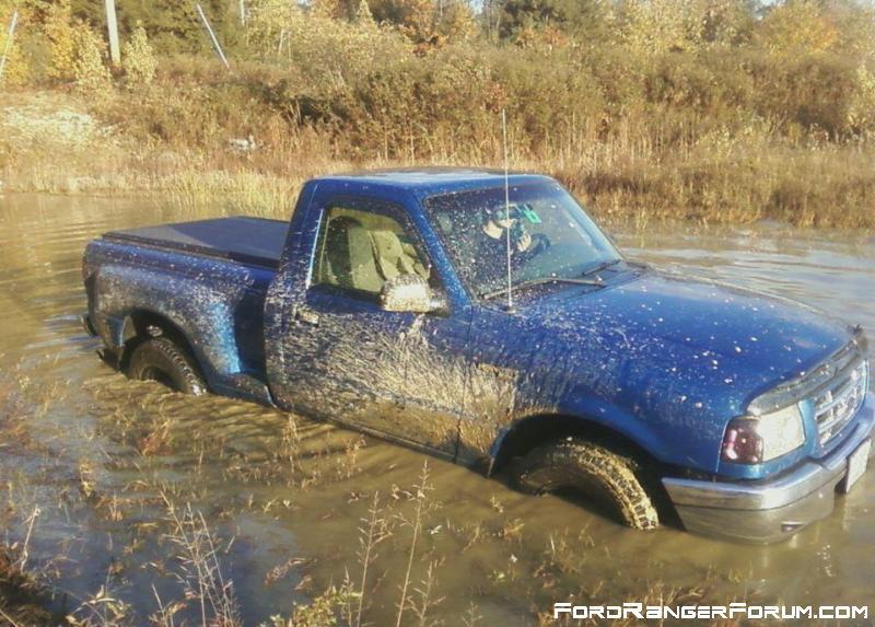 little too deep for the ranger