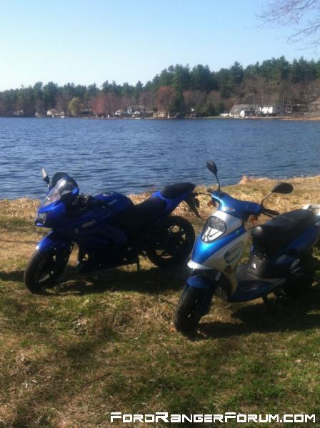 my bike and the 69cruiser