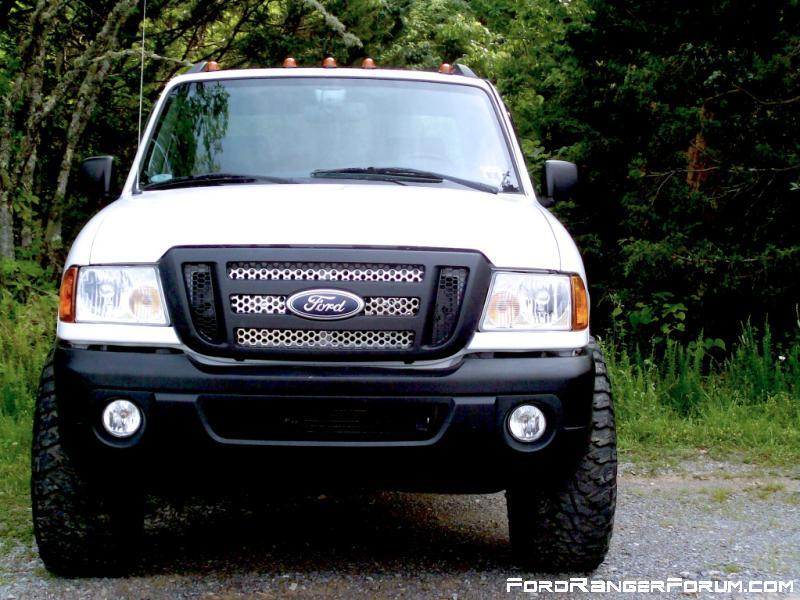 Blacked out headlights ford ranger forum