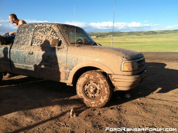 After some mudding