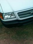 2001 Danger ranger bumpers painted flat black