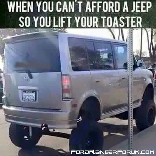 Lifted Toaster
