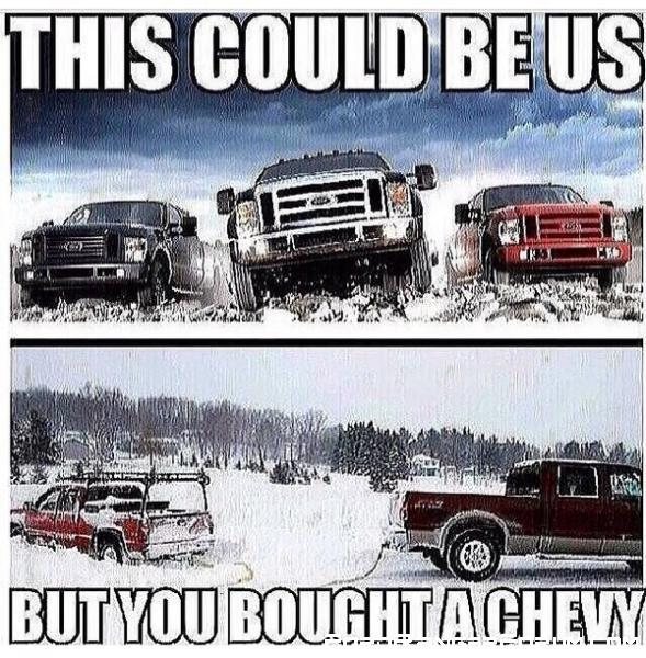 Bought Chevy