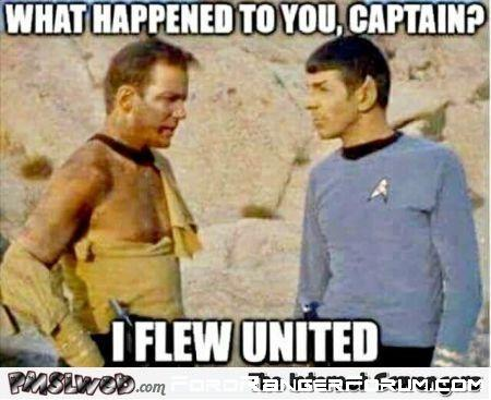 United flight.